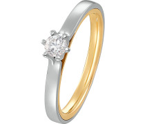 Ring '60120994' gold / silber
