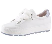 Sneaker weiß / hellblau