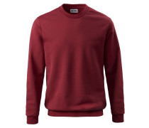 Sweatshirt blutrot