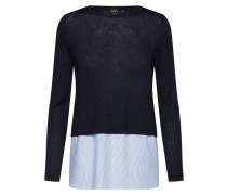 Pullover 'new Oxford' blau / weiß