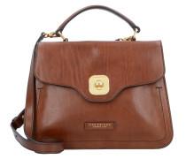Handtasche 'Hornby' Leder 27 cm braun