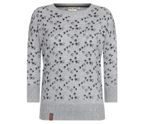Pullover 'Maja' graumeliert