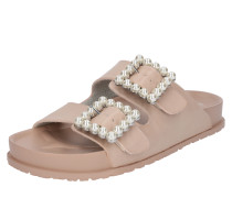 Sandale 'nora' puder / perlweiß