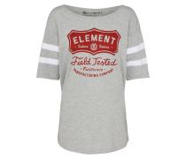Shirt grau / rot / weiß