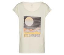 Shirt 'All Night' wollweiß