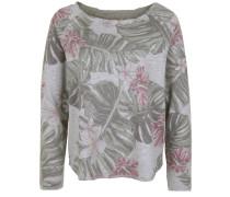 Sweatshirt 'devore Tropic' grau