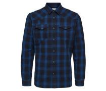 Slim Fit Hemd blau