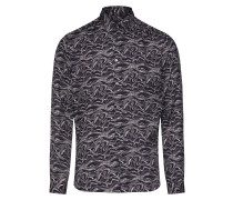 Hemd 'ruben' grau / schwarz