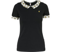Shirt beige / gelb / schwarz
