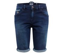Jeansshort 'lance' blau