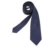 Krawatte 'Schwarze Rose' blau