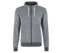 Jacke grau / graumeliert / weiß
