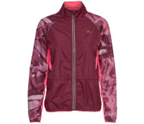 Sportjacke 'Dayo' beere / pink / weinrot