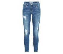 Skinny-Jeans 'oKENDELL REG SK Ank' blue denim