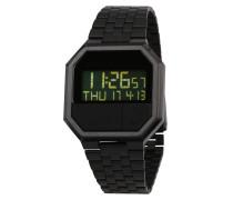 Armbanduhr 'Re-Run' schwarz