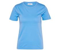 T-Shirt 'Leila' blau