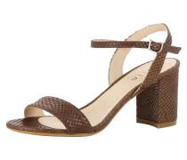 Sandale 'ambra' braun