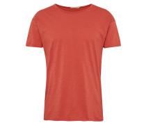 T-Shirt 'Roger Slub' orangerot