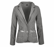 Sweatblazer grau