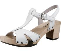 Sandalette 'Rosaria' weiß