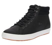 Sneaker High 'straightset' schwarz