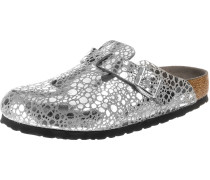 'Boston' Clogs silber