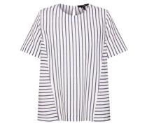 Shirt blau / weiß