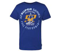 T-Shirt 'tp52 Ocean' blau / gelb / weiß
