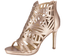 High-Heels mit Cut-Outs rosegold