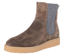 Chelsea-Boots grau / taupe