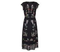 Kleid 'vest_Sandy' mischfarben / schwarz