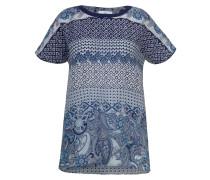 Shirtbluse blau