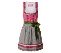 Dirndl 'Martina' pink / oliv
