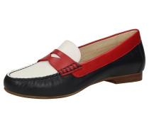 Slipper 'Libisia-700' rot / schwarz / weiß