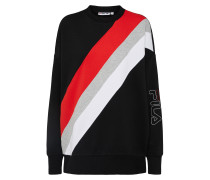 Sweatshirt 'jewel Crew' mischfarben / schwarz