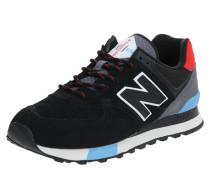 Sneaker 'ml574Jh' blau / rot / schwarz