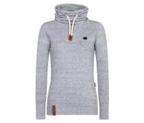 Pullover 'Knit' graumeliert