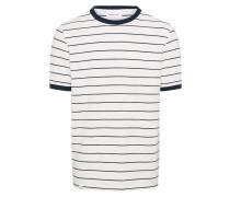 Shirt mit Streifen dunkelblau / weiß