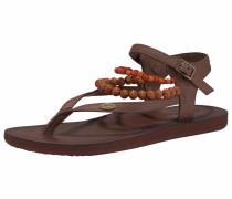 Sandale 'batida Sandal' braun / rostbraun