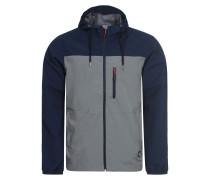 Softshelljacke 'eliam' blau