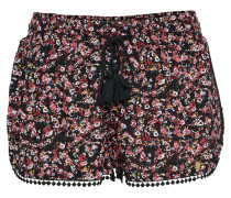 Shorts 'terri' rot / schwarz