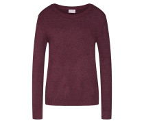Pullover 'ril' weinrot