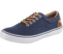 Sneaker in Jeans-Optik dunkelblau