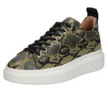 Sneaker 'Dee Snake' hellgrün / dunkelgrün