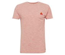 T-Shirt 'kurt printed' rot