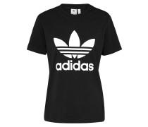 T-Shirt 'trefoil' schwarz