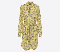 Kleid 'Mayson' blau / gelb