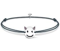 Armband 'Little Secret 'Teufel-Emoticon' LS044-382-5-L20v'