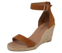Sandale 'Erin' beige / braun
