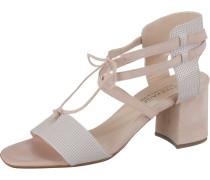 Klassische Sandaletten puder